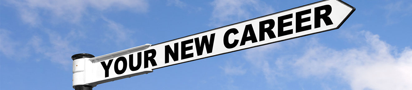 Your new career sign post