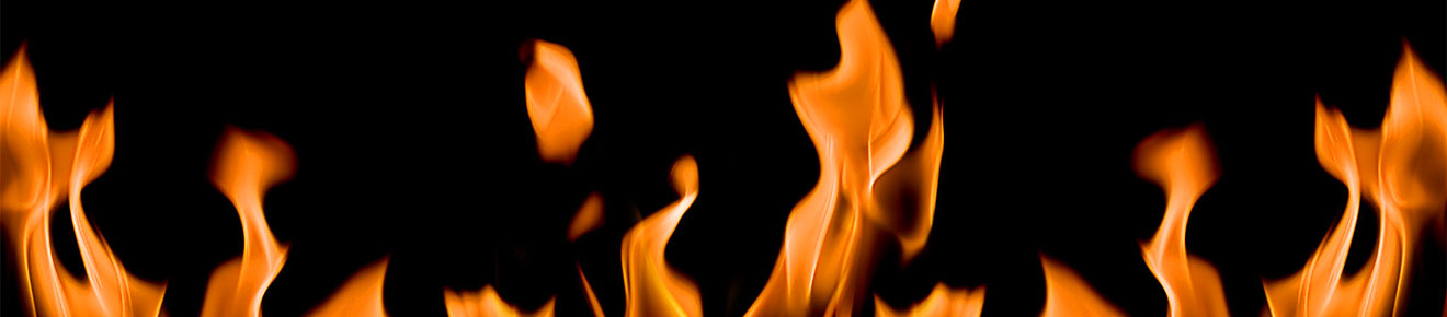 Image of flames against a black background