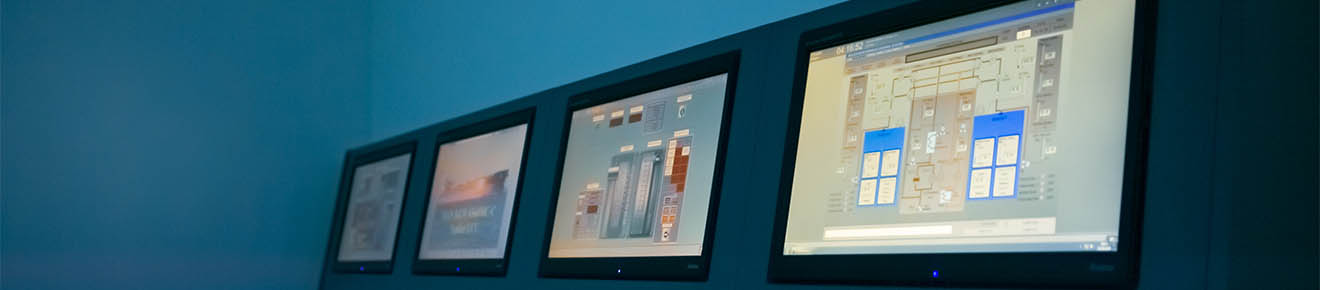 Screens - LJMU Maritime Centre
