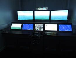 Ship simulator - LJMU Maritime Centre
