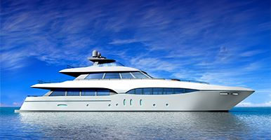 Image of a super yacht