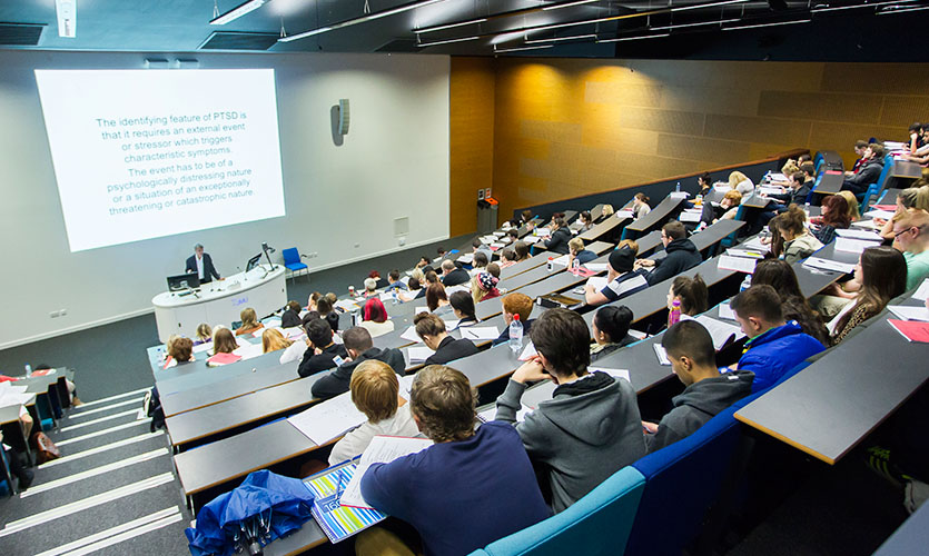 Lecture in Redmonds Building