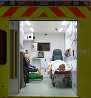 Replica ambulance
