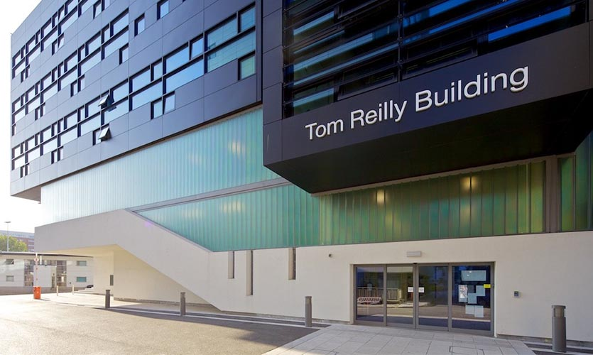 Tom Reilly building