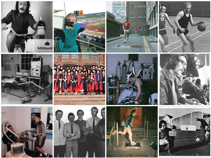 Facebook gallery for 40 Years of Sport Science