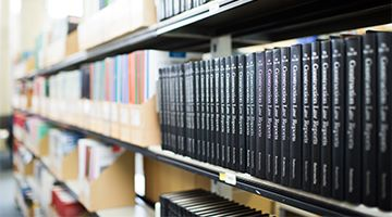 Image of Construction law Report Books on a shelf