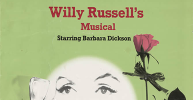 Image of a programme from a Willy Russel musical