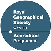 Royal Geographical Society Accreditation Logo