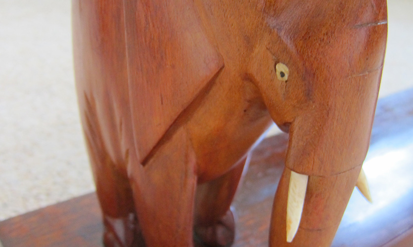 Ray Riley Elephant table
