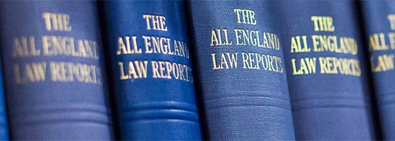 Law report books