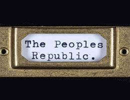 "Label stating ""The people"