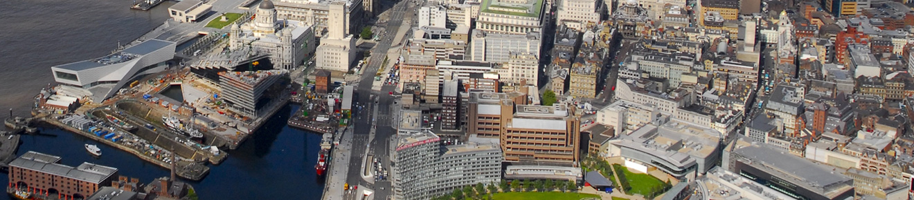 Liverpool aerial