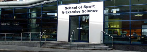 School of sport and exercise science